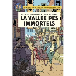 Postcard Blake and Mortimer Album: La vallée des immortels T1 (10x15cm)