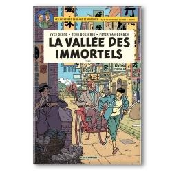 Decorative magnet Blake and Mortimer, La vallée des immortels (55x79mm)