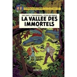 Postal del álbum de Blake y Mortimer: La vallée des immortels T2 (10x15cm)