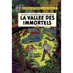 Postcard Blake and Mortimer Album: La vallée des immortels T2 (10x15cm)