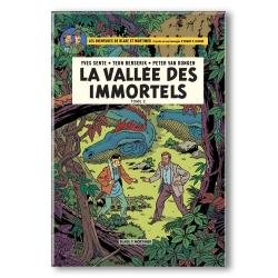 Decorative magnet Blake and Mortimer, La vallée des immortels T2 (55x79mm)