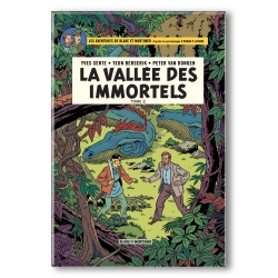 Imán decorativo Blake y Mortimer, La vallée des immortels T2 (55x79mm)