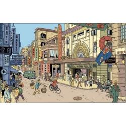 Postal de Blake y Mortimer: Queen's (15x10cm)