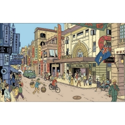 Postcard Blake and Mortimer: Queen's (15x10cm)