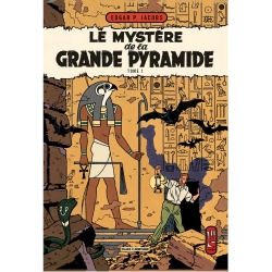 Postal de Blake y Mortimer: Le Mystère de la Grande Pyramide T1 (10x15cm)