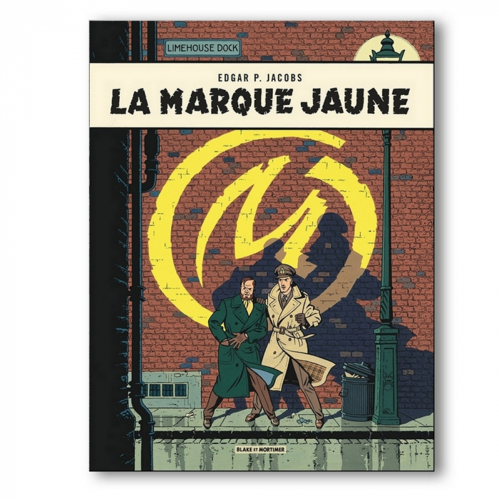 Decorative magnet Blake and Mortimer, La Marque Jaune (55x79mm)