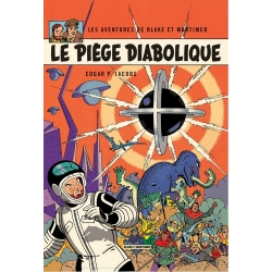 Postal de Blake y Mortimer: Le Piège Diabolique (10x15cm)