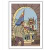 Poster offset Blake and Mortimer, festivities (28x35,5cm)