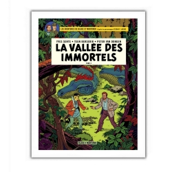 Poster offset Blake and Mortimer, La vallée des immortels T2 (28x35,5cm)