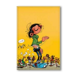 Decorative magnet Gaston Lagaffe, Giant (55x79mm)