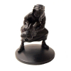 Figurine de collection Tintin Abdallah Moulinsart Noir Monochrome (42167)