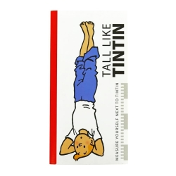 Livre toise pour se mesurer à Tintin: Tall Like Tintin Yoga 140cm (2015)