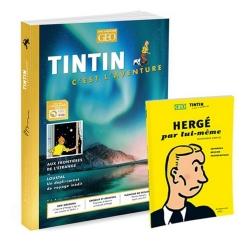 Revista GEO Tintin aux Frontieres de l'Étrange + Hergé par lui-même FR (Nº6)