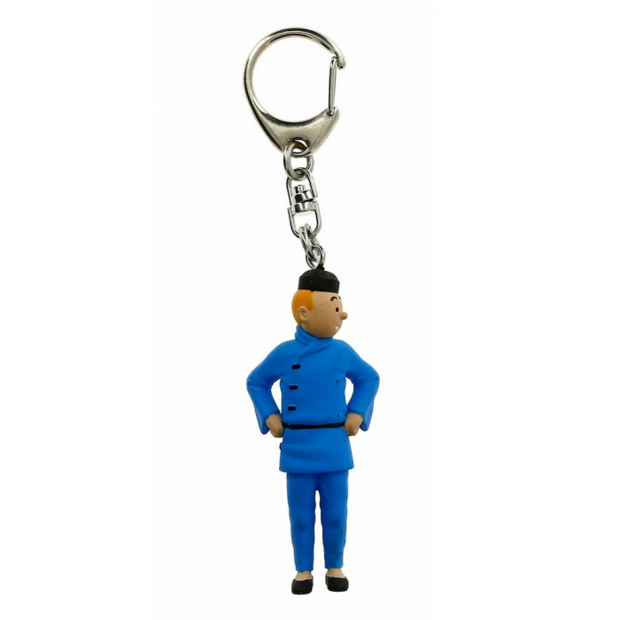 Keyring chain figurine Tintin Chinese 6cm Moulinsart 42465 (2011)