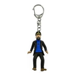 Keyring chain figurine Tintin The Captain Haddock 10cm Moulinsart 42425 (2010)