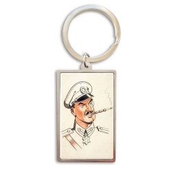 Collectible Keychain Blake and Mortimer, Olrik (3x5cm)