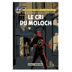 Carte postale album de Blake et Mortimer: Le cri du Moloch (10x15cm)