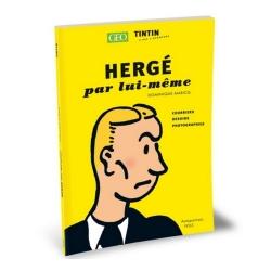 Livre GEO Tintin de Dominique Maricq (Hergé par lui-même)