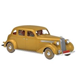 Voiture de collection Tintin, la conduite intérieure beige Nº36 1/24 (2020)