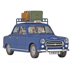 Collectible car Tintin, the Moulinsart blue taxi Nº37 1/24 (2020)
