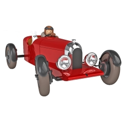 Collectible car Tintin, the Red Amilcar of the Soviets Nº38 1/24 (2020)
