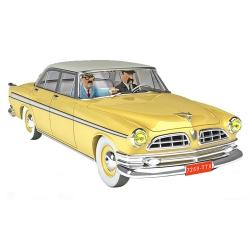 Coche de colección Tintín, el Chrysler amarillo Nº39 1/24 (2020)