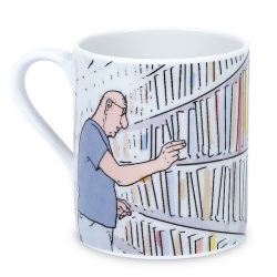 Tasse mug en porcelaine Moulinsart Corto Maltese (Sibérie)
