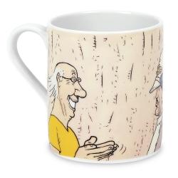 Tasse mug en porcelaine Moulinsart Moebius (Bibliothèque)