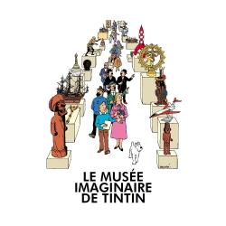 Carte postale Moulinsart Le Musée imaginaire de Tintin 32289 (12,5x17,5cm)