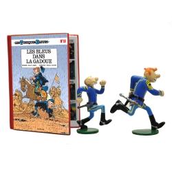 Figurine de collection Pixi Les Tuniques bleues, Les Bleus dans la gadoue 5672 (2021)