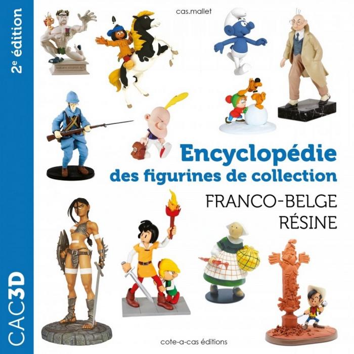 Comics resin figures catalog cac3d Pixi / Fariboles / Attakus / Leblon (2021)