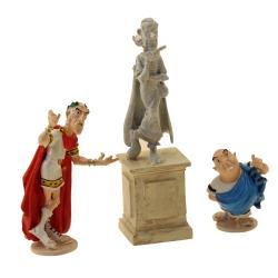Figura de colección Pixi Asterix y Obélix, la estatua de Zérozérosix 2359 (2021)