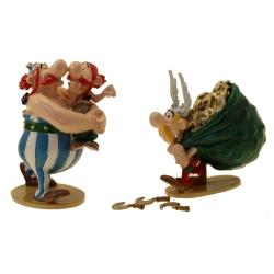 Figura de colección Pixi Asterix, Obélix con su primo Amérix 2360 (2021)