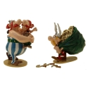 Collectible figurine Pixi Asterix, Obelix with his cousin Amérix 2360 (2021)