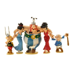Collectible figurine Pixi Asterix and Obelix, the Sirtaki dance 2362 (2021)