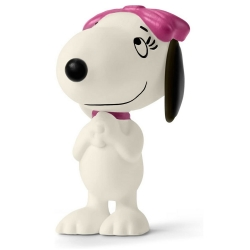 Figura Schleich® Peanuts Snoopy, Belle embelesada (22032)