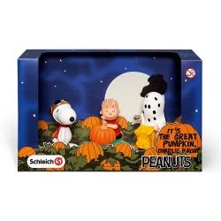 Set de figuras Schleich® Peanuts Snoopy, Halloween (22015)