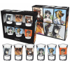 Set of 6 shot glasses Blacksad (The Characters)