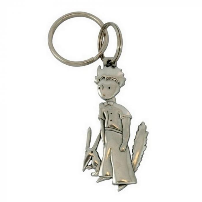 Porte-clés de collection Le Petit Prince et renard Les étains de Virginie (2015)