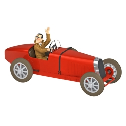 Collectible car Tintin, the Bobby Smiles Type 35 Nº41 1/24 (2020)