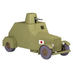Voiture de collection Tintin, l'automitrailleuse blindée Nº42 1/24 (2020)