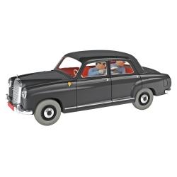 Coche de colección Tintín, el coche de los agentes fronterizos Nº43 1/24 (2020)