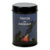 Moulinsart Tin Ground Coffee Box, Tintin in America colorized, Campfire (250g)