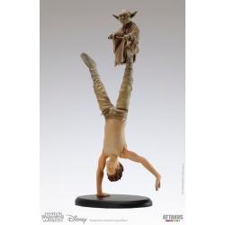 Figurine de collection Star Wars Yoda & Luke Skywalker Attakus 1/10 SW026 (2017)