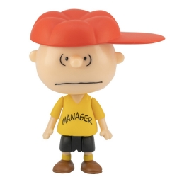 Figura Peanuts® Super7 ReAction, Charlie Brown Manager