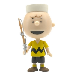Figurine Peanuts® Super7 ReAction Charlie Brown Camp