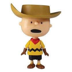 Figurine Peanuts® Super7 ReAction, Charlie Brown avec chapeau de cowboy