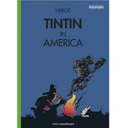 Álbum Las aventuras de Tintín T3 - Tintin in America color EN V3 (2020)