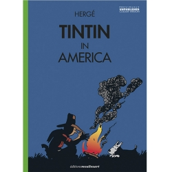 Album The Adventures of Tintin T3 - Tintin in America color version V3 (2020)
