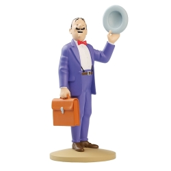 Collectible figurine Tintin, Jolyon Wagg 14cm + Booklet ES Nº11 (2012)